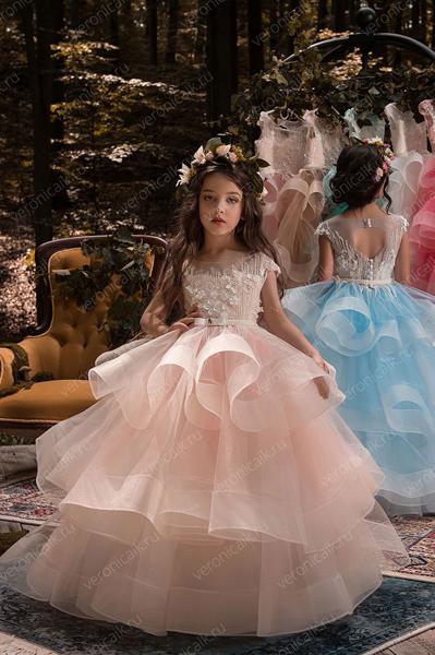 4bce08549df Бальные платья на выпускной в детском саду